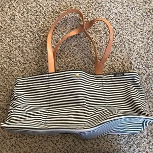 NWOT Kate Spade Saturday Tote with Leather Straps